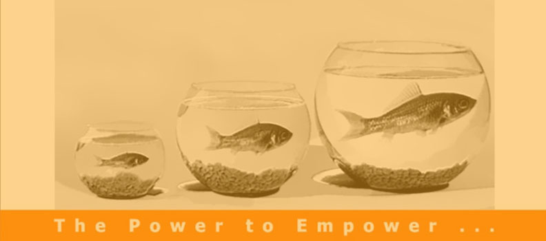 The power to empower.