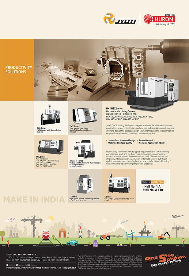 Jyoti imtex ad Productivity solution
