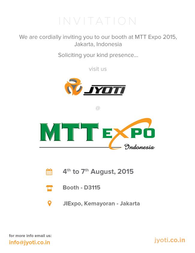 mmt expo - 2015 - invitation