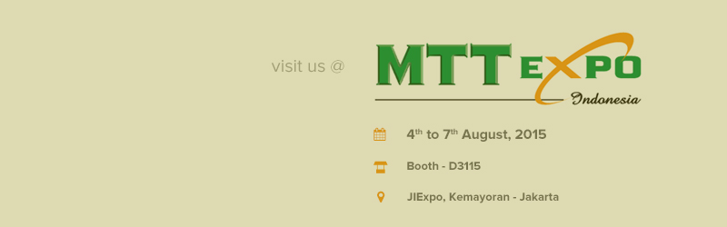 MTT Expo 2015, Jakarta, Indonesia