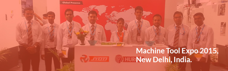 Glimpses of Machine Tool Expo 2015,  New Delhi, India.