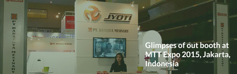 Glimpses of our booth at  MTT Expo 2015, Jakarta, Indonesia.