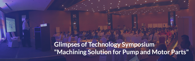 Glimpses of Technology Symposium at Coimbatore – Sep, '15.
