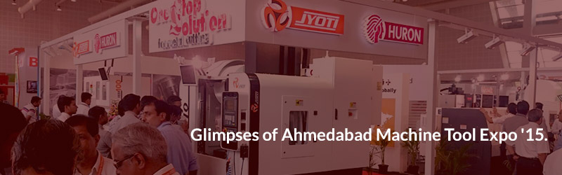 Glimpses of Ahmedabad Machine Tool Expo '15.