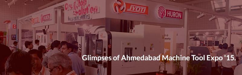 Glimpses of Ahmedabad Machine Tool Expo '15.