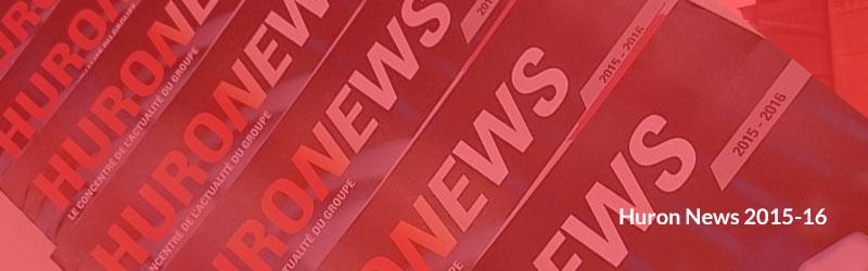Huron News 2015-16