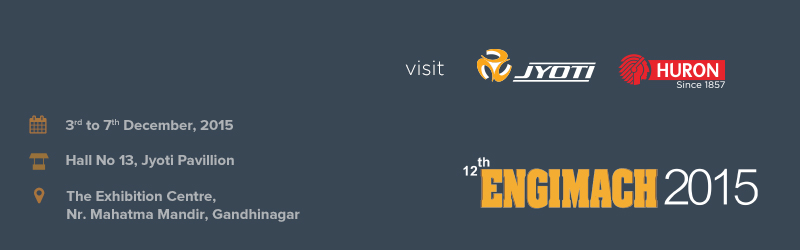 Visit us at 12th Engimach 2015 Exhibition, Gandhinagar