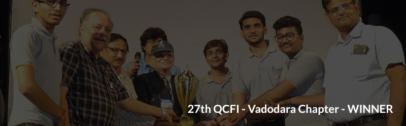 "Yet another achievement on Quality front ! Jyoti wins "" Gold Award"" from Quality Circle Forum of India (QCFI)"
