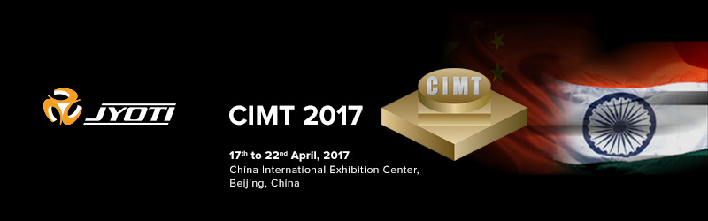 Visit Jyoti at CIMT 2017, Beijing, China
