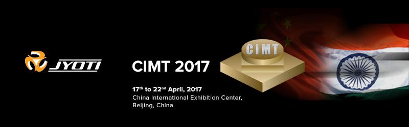 Visit Jyoti at CIMT 2017, Beijing, China