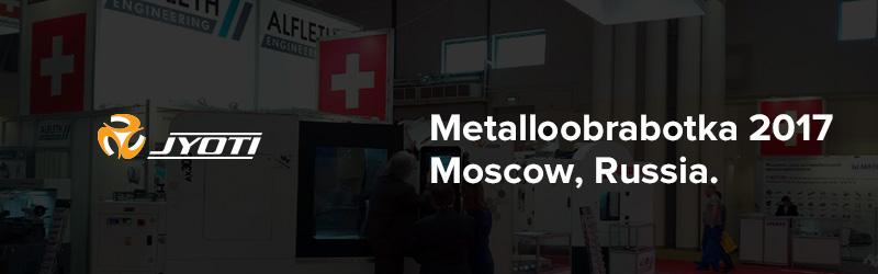 Jyoti Huron at Metalloobrabotka 2017, Moscow, Russia