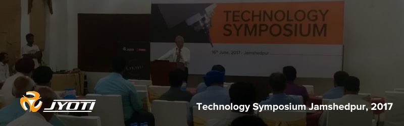 "Bridging a gap ""Technology Symposium"" at Jamshedpur."