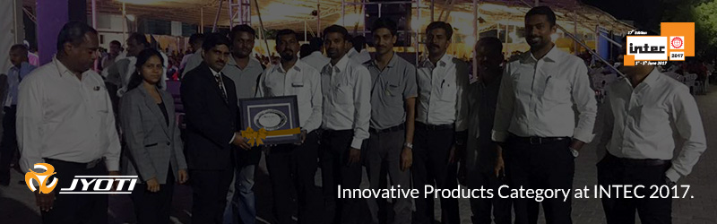 Proudly adding a shining star to our achievements for Innovative Products Category at INTEC 2017.