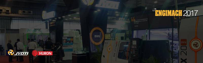 Jyoti at Engimach 2017 with Revolutionary fresh 'NVU' machines.