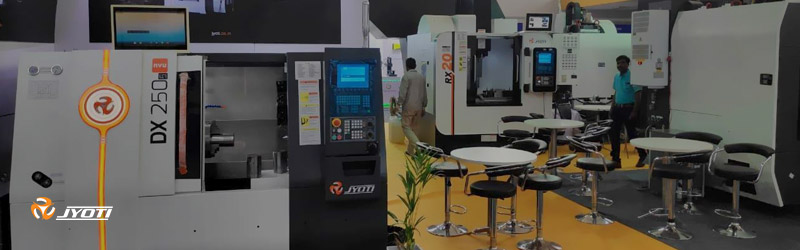 "Refreshingly new series ""nvu"" on display at Pune Machine Tool Expo, Auto Cluster Exhibition Ground, Pune."