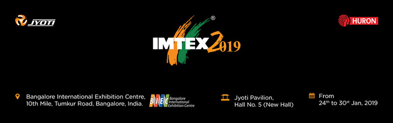 Invitation to visit us at Jyoti Pavilion, IMTEX 2019.
