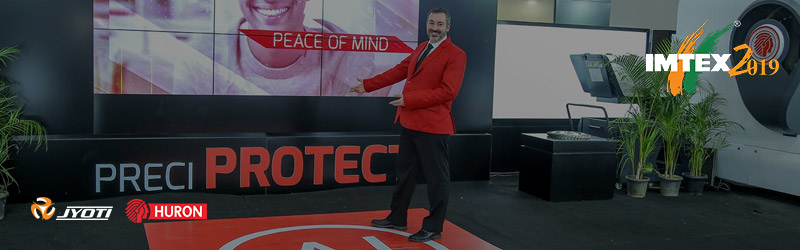 Jyoti Stands out at Imtex'19 with an Artificial Intelligence and other class apart cutting edge technologies on the display !