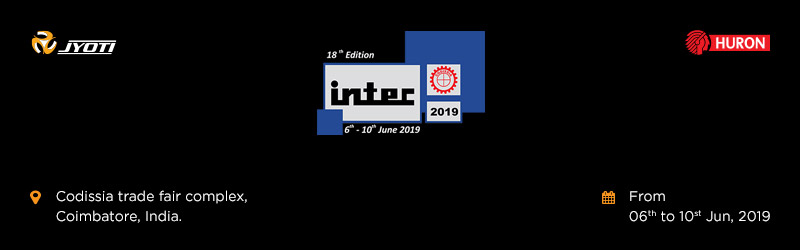 Invitation to visit us at Jyoti Pavilion, INTEC 2019.