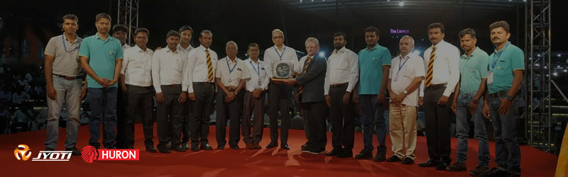 JYOTI has been awarded the BEST INNOVATIVE PRODUCT AWARD in Medium & Large Industry category in the ongoing INTEC Exhibition @ Coimbatore, INDIA.