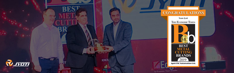 """The Best Metal Cutting Brand 2019″ An Award From The Economic Times, India"