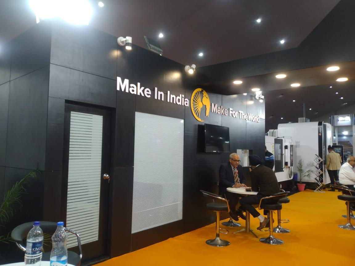 Feverish glimpses of Jyoti CNC Automation LTD at MachAuto Expo.2020, Ludhiana.