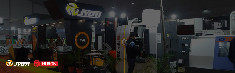 Feverish glimpses of Jyoti CNC Automation LTD at MachAuto Expo.2020, Ludhiana.