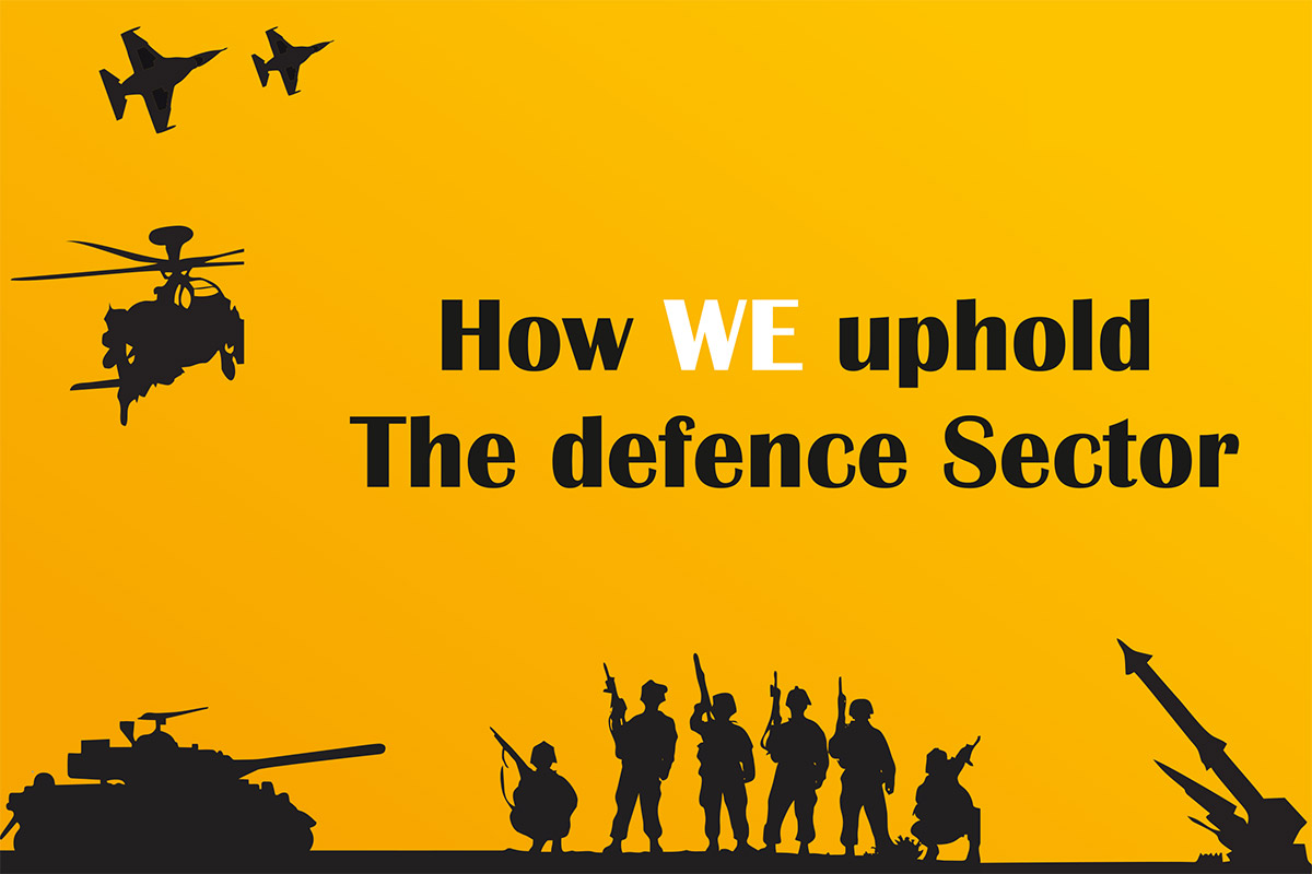 How uphold WE The defence Sector
