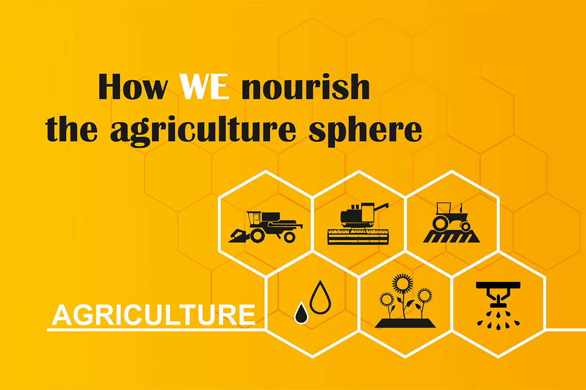 How WE nourish the agriculture sphere