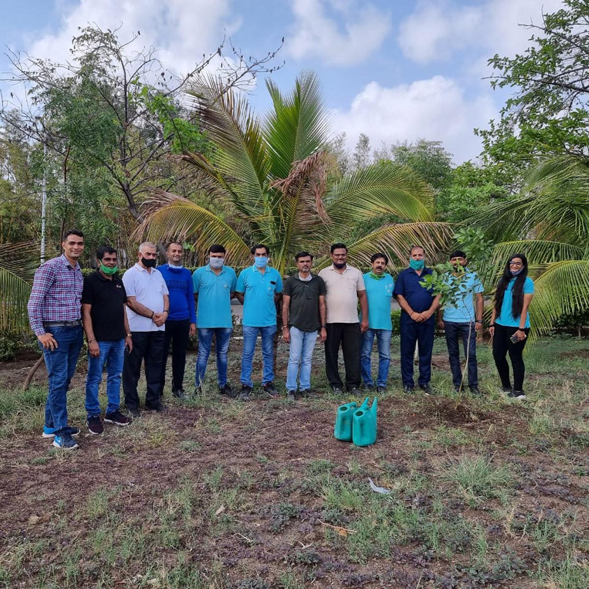 Plantation at Jyoti CNC on World Environment Day