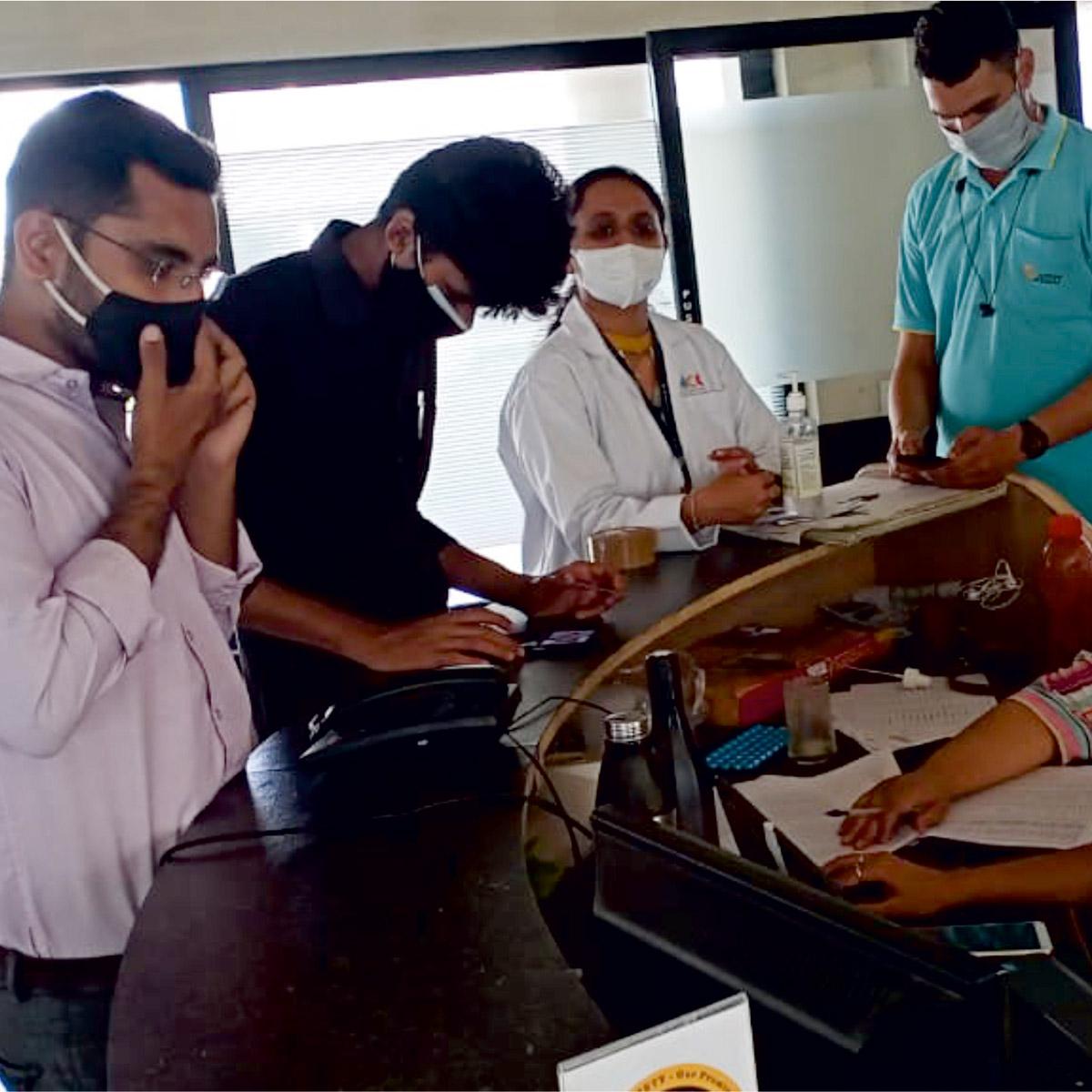 Vaccination Camp at Jyoti CNC